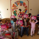 Gyermeknapi ünneplés a csepeli Anya- és Családotthonban