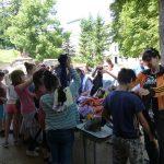 Bakonyi gyermekotthon látogatás