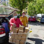 Adományosztás a csepeli Gyermekotthonok részére