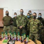 Adományok a Magyar Honvédség katonáinak