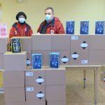 Tisztálkodási szerek a csepeli Hajléktalan Szálló részére