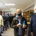Ajándékozás A csepeli Vöröskereszt Hajléktalan Szállón