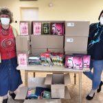 Gyermeknapi adomány a csepeli Mészáros Jenő Óvoda, Általános Iskola és Egységes Gyógypedagógiai Módszertani Intézmény számára