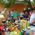 Gyermeknap a csepeli Anya- és Családotthonba