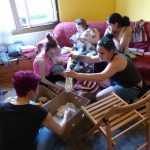 Látogatás egy csepeli lakásotthonban