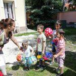 Gyermeknap a csepeli Anya-és Családotthonban