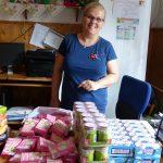 Ajándékozás egy csepeli gyermekotthonban