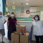 Látogatás a csepeli Olajág Idősek Otthonában