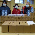 Adományozás a csepeli Hajléktalan Szálló lakóinak
