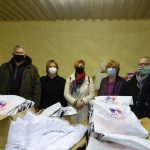 Adományok a Buckai Szövetség Egyesület Csepeli Szervezetének munkatársaitól