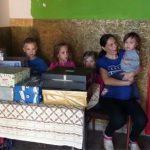 Egy rászoruló család támogatása