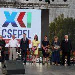 Alapítványunk elnöke és felesége Csepel Szolgálatáért Díjban részesültek